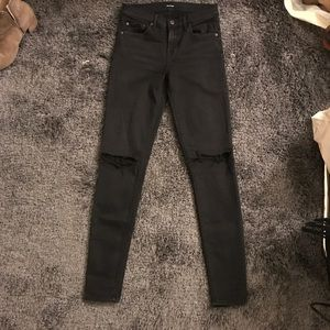 GRLFRND by REVOLVE - Washed Black Skinny Jean